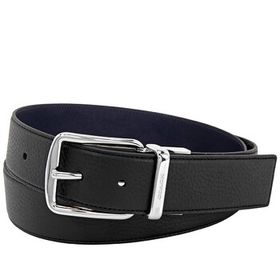 Coach Coach Harness Buckle Leather Belt, 38 MM, Br