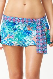 Tommy Bahama Palm Party Skirted Bikini Bottom