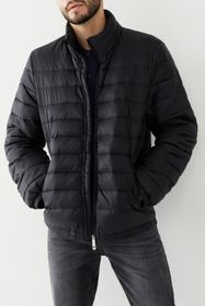 True Religion Slim Zip Front Puffer Jacket