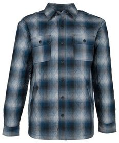RedHead Ranch Quilted Flannel Long-Sleeve Shirt Ja