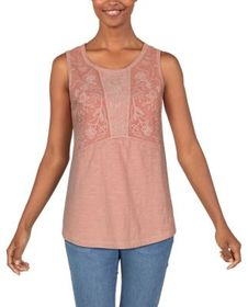 Bob Timberlake Embroidered Tank Top for Ladies