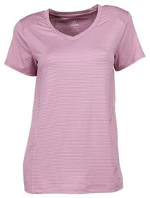 Ascend Striped Short-Sleeve Performance T-Shirt fo
