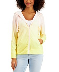 Ombré Zip Hoodie, Created for Macy's