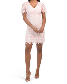 Rosa Lace Ezmerelda Dress