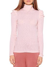 Sundry - Puff Sleeve Turtleneck Sweater