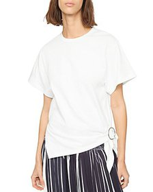 3.1 Phillip Lim - Gathered Ring Tee