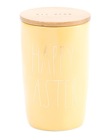 Happy Easter Canister