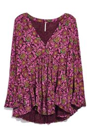 Free People Olivia Printed Tunic Top