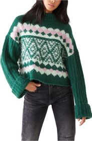 Free People Alpine Knit Pullover