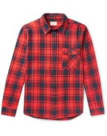 NUDIE JEANS CO - Checked shirt