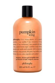 philosophy pumpkin icing shower gel - 16oz.