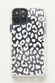 Anthropologie Casetify White Leopard iPhone Case