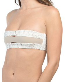 Made In Colombia Color Block Bandeau Top