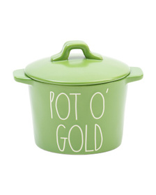 Pot Of Gold Serving Dish