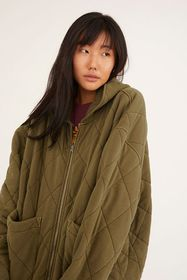 UO Freja Quilted Hooded Jacket