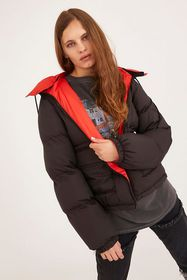 UO Recycled Reversible Puffer Coat
