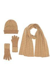 Michael Kors Monogramed Knit 3-Piece Set