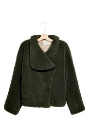 Free People Izzy Wrap Teddy Coat