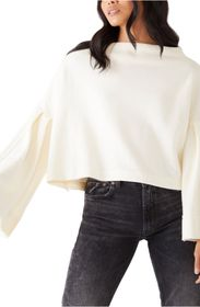 Free People Bunny Funnel Neck Top