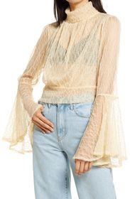 Free People Rule Breaker Lace Top