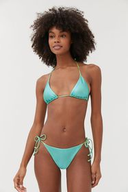 les girls les boys Metallic Bikini Bottom