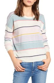 Splendid Shore Stripe Print Sweater