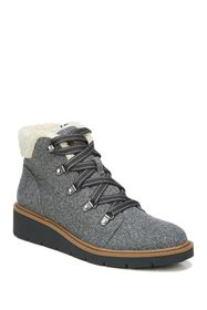 Dr. Scholl's Love To Faux Shearling Wedge Bootie