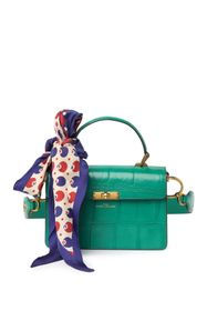 Marc Jacobs The Downton Croc Embossed Leather Shou