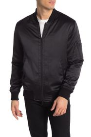 OVADIA AND SONS Satin Bomber Jacket