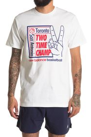 New Balance Two Time Champ Graphic T-Shirt