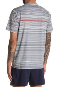 New Balance Rally Striped Crew Neck T-Shirt