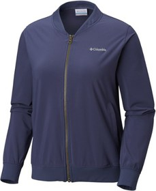 Columbia Anytime Casual Full-Zip Bomber Jacket - W