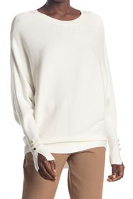 philosophy Dolman Sleeve Ribbed Knit Sweater