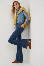 Anthropologie Paige Genevieve High-Rise Bootcut Je