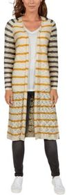 Natural Reflections Open-Front Long-Sleeve Cardiga