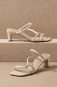 Anthropologie Intentionally Blank Willow Heels