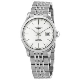 Longines Longines Record Automatic Silver Dial Lad