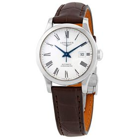 Longines Longines Record Automatic White Dial Brow