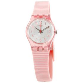 Swatch Swatch Blushed Kissed Quartz White Dial Lad