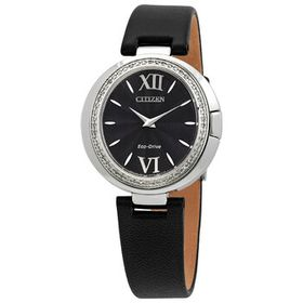 Citizen Citizen Capella Diamond Black Dial Ladies