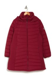 DKNY Packable Puffer Coat w/ Bib