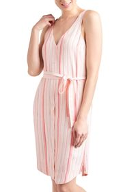 Splendid Sunshade Stripe Print Tank Dress