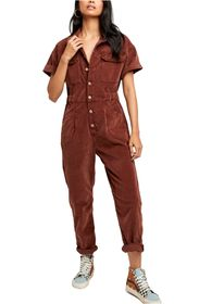 Free People Marci Cord One-Piece Jumpsuit