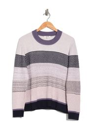 Splendid Tilly Stripe Print Crew Neck Sweater