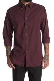 Brooks Brothers Solid Flannel Regular Fit Shirt