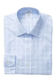 Brooks Brothers Plaid Regent Fit Dress Shirt