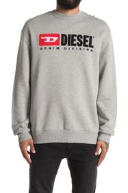 Diesel Division Embroidered Logo Sweatshirt