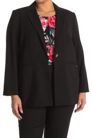 Calvin Klein One Button Notch Lapel Jacket