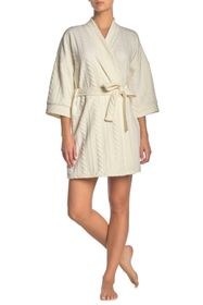Tahari Cable Pattern Robe