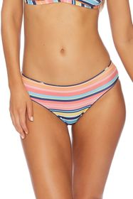 Splendid Take Wing Stripe Bikini Bottoms
